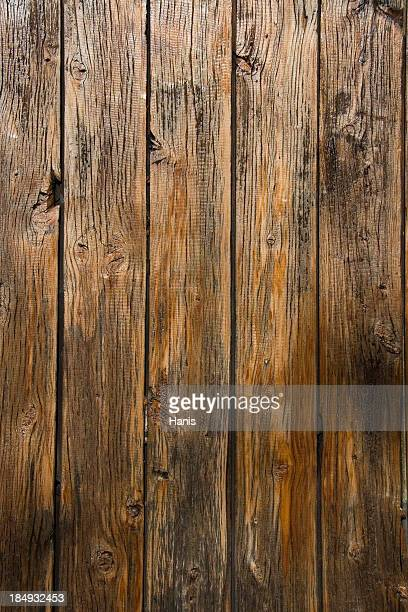Aged wooden background with vertical planks