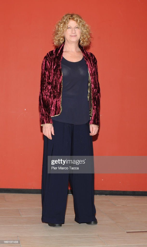 Agela Finocchiaro attends a 'Ci vuole un gran fisico' photocall on March 5, 2013 in Milan, Italy.