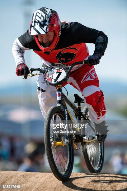 Ageless' Justin Alvey competed in the 46 Over Expert and the 4650 Cruiser classes at the USA BMX Mile High Nationals on August 6 at Grand Valley BMX...