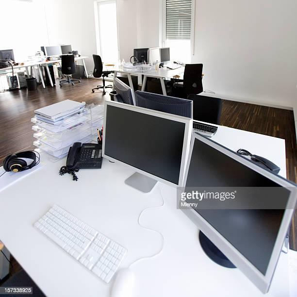 Intérieur de bureau de l'agence