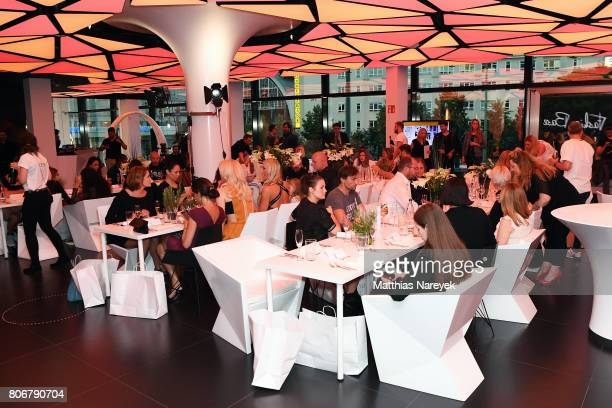 Ageneral view during the Marcell von Berlin 'Genesis' collection presentation on July 3 2017 in Berlin Germany