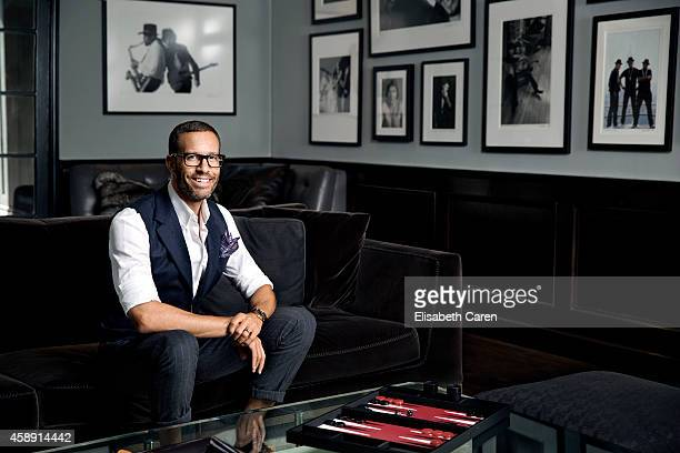 Agent Andrew Weitz is photographed for Los Angeles Confidential on July 17 2014 in Beverly Hills California ON DOMESTIC EMBARGO UNTIL DECEMBER 1 2014...