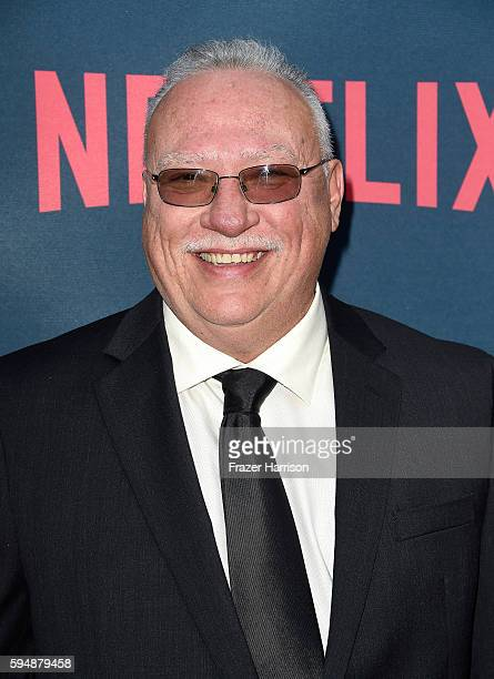 DEA agent Javier Pena attends the Season 2 premiere of Netflix's 'Narcos' at ArcLight Cinemas on August 24 2016 in Hollywood California