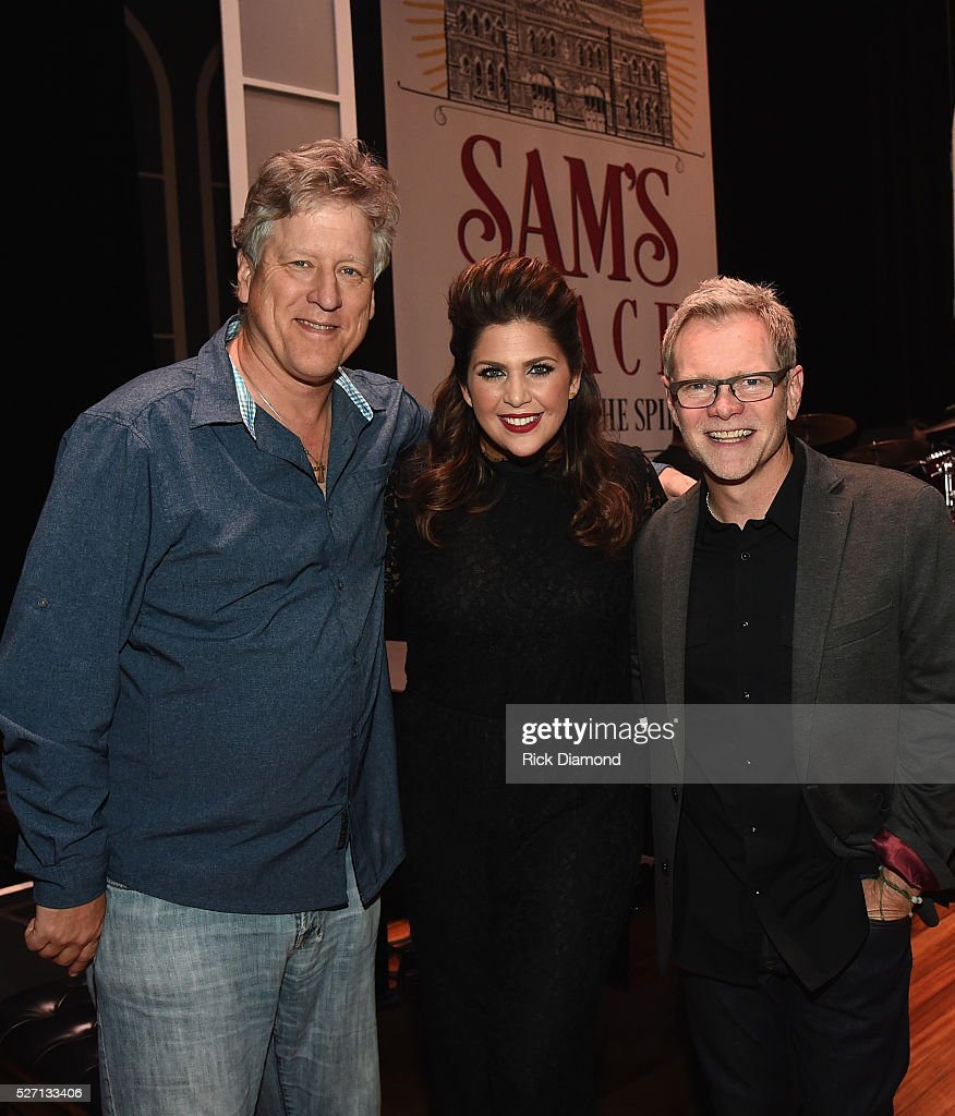 Agent John Huie CAA, Hillary Scott and Steven Curtis Chapman during Sam's Place - Music For The Spirit - May 1, 2016 at Ryman Auditorium in Nashville, Tennessee.