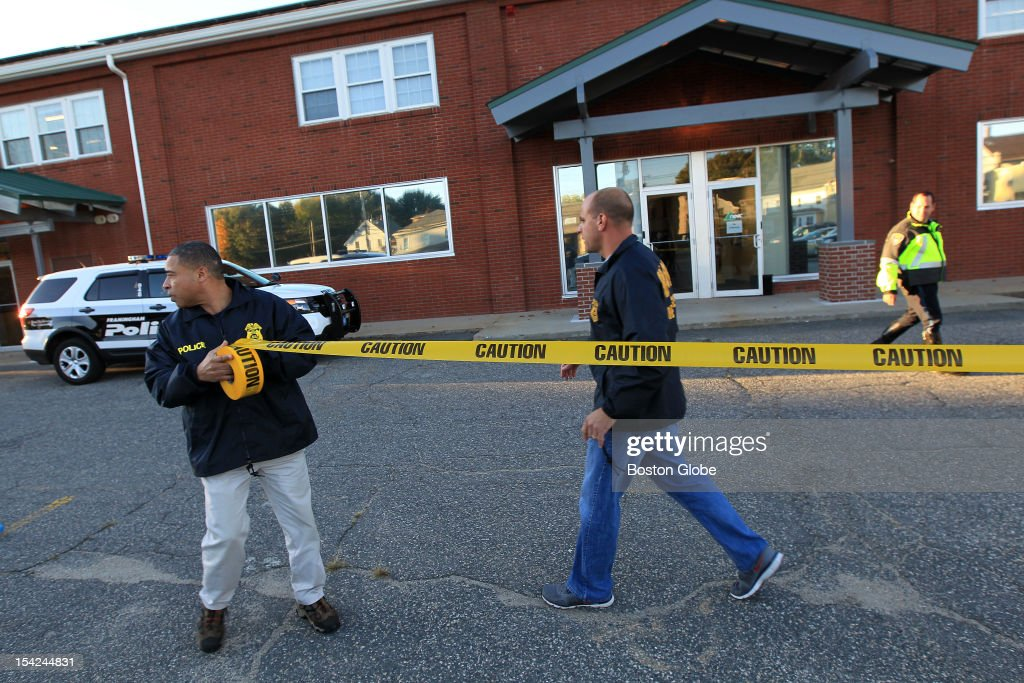 OCI agents entered New England Compounding Center at 697 Waverly Street in Framingham Mass
