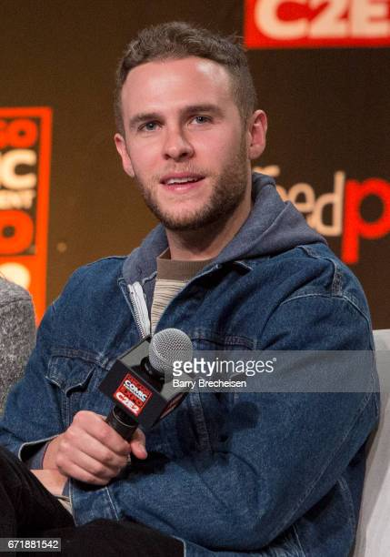 Agents of SHIELD actor Iain De Caestecker during the 2017 C2E2 Chicago Comic Entertainment Expo at McCormick Place on April 22 2017 in Chicago...
