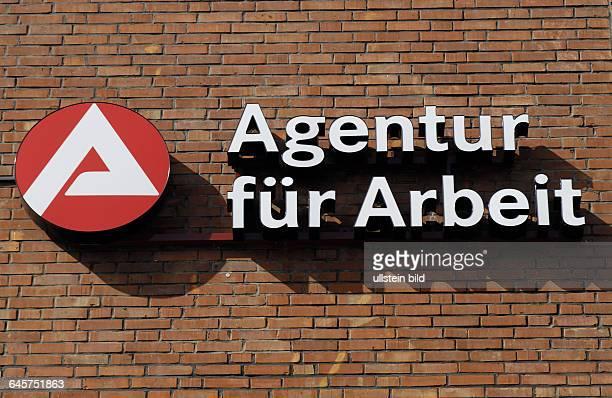 Agentur Agenturen f¸r Arbeit Arbeitsamt Arbeits‰mter Logo Logos Schriftzug Schriftz¸ge Zeichen Arbeitslosigkeit Arbeitsvermittlung...
