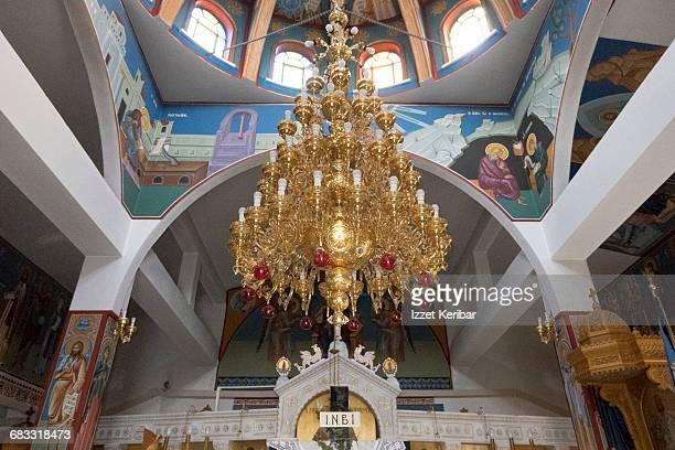 Agios Nikolaos church interior,Skopelos island