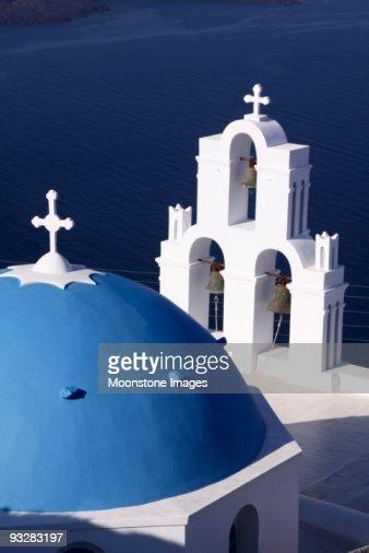 Agios Theodori Church in Firostefani, Santorini, Greece