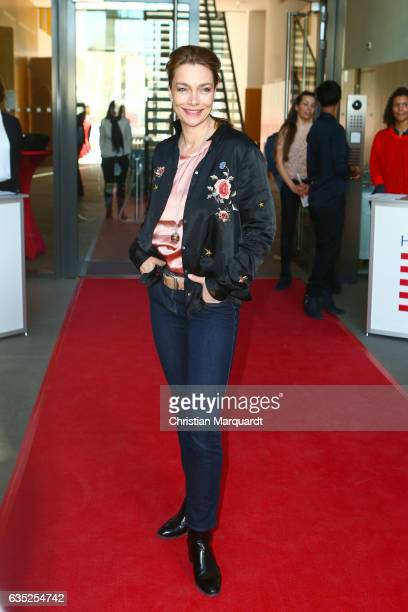 Aglaia Szyszkowitz attends the Hessian Reception during the 67th Berlinale International Film Festival Berlin at on February 14 2017 in Berlin Germany