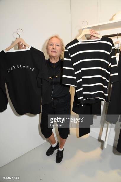 Agnes B attends the Agnes B Menswear Spring/Summer 2018 show as part of Paris Fashion Week ton June 25 2017 in Paris France