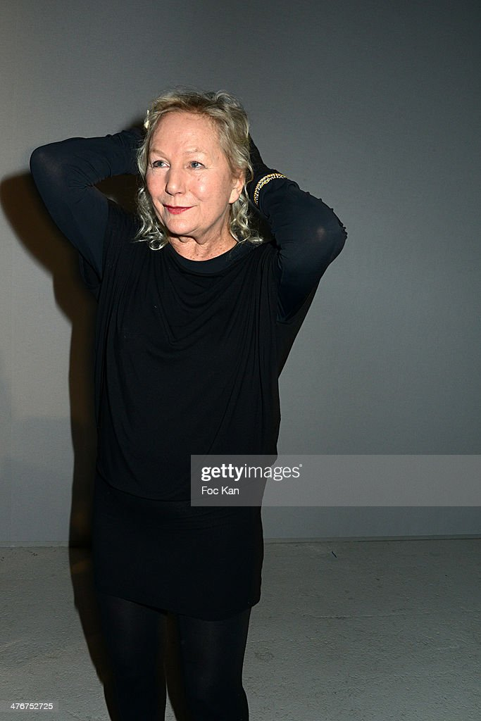 Agnes B. attends the Agnes B. show as part of the Paris Fashion Week Womenswear Fall/Winter 2014-2015 at Palais de Tokyo on March 4, 2014 in Paris, France.
