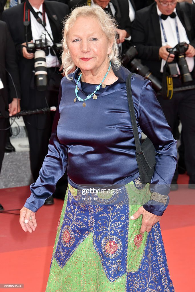 Agnes B. attends the Closing Ceremony of the 69th annual Cannes Film Festival at the Palais des Festivals on May 22, 2016 in Cannes, France.