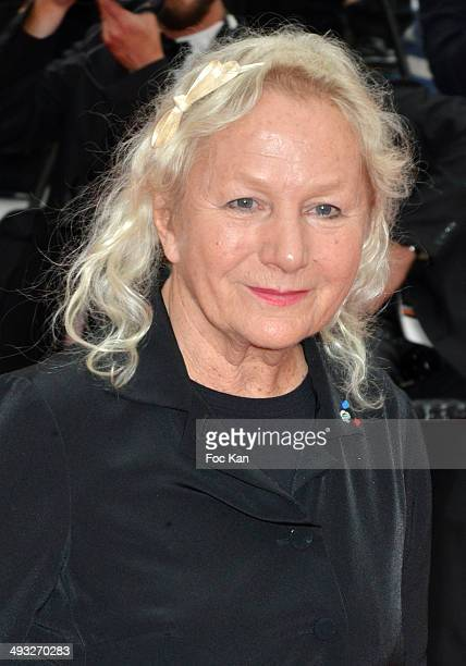 Agnes B attends the 'Jimmy's Hall' premiere during the 67th Annual Cannes Film Festival on May 22 2014 i n Cannes France