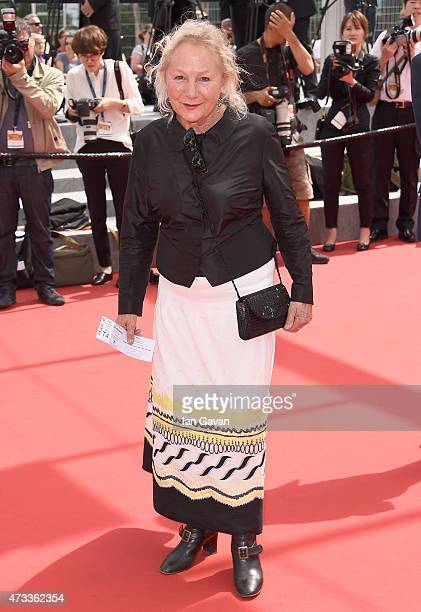 Agnes B attends the Premiere of 'Umimachi Diary' during the 68th annual Cannes Film Festival on May 14 2015 in Cannes France