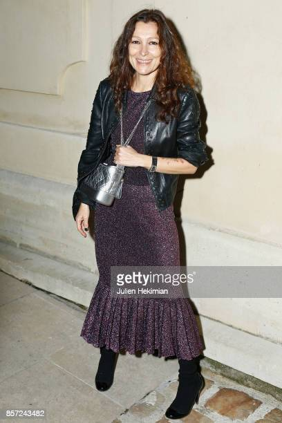 Agnes Liely attends the Chanel 'Code Coco' Watch Launch Party as part of the Paris Fashion Week Womenswear Spring/Summer 2018 on October 3 2017 in...