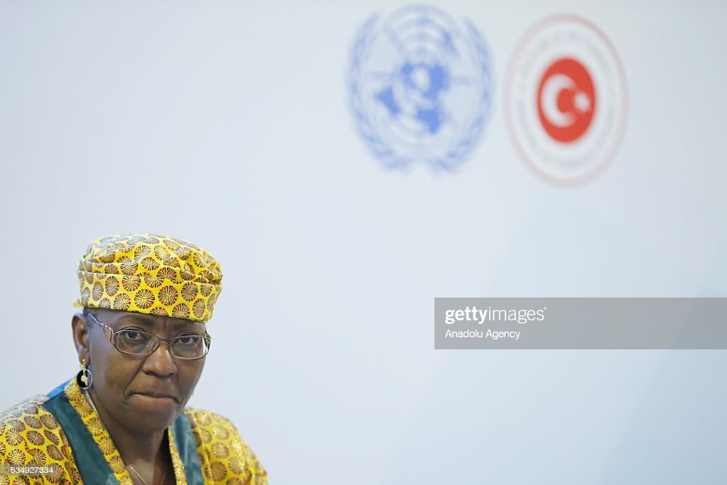 Agnes Makonda Nyalonje of Malawi National Assembly takes part in the event under the theme ''Science, Technology and Innovation Inspired Sustainable Development: Building Capacity in the LDCs'' within the Midterm Review of the Istanbul Programme of Action at Titanic Hotel in Antalya, Turkey on May 28, 2016. The Midterm Review conference for the Istanbul Programme of Action for the Least Developed Countries takes place in Antalya, Turkey from 27-29 May 2016.