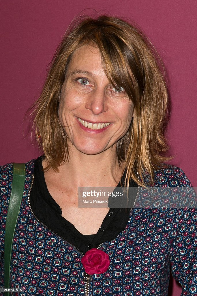 Agnes Ravez attends the 'Cesar 2016- Nominee luncheon' at Le Fouquet's on February 6, 2016 in Paris, France.