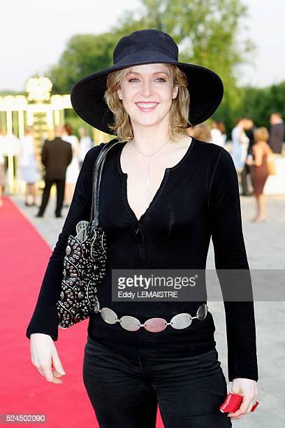 Agnes Soral attends the 21st 'Fete du Cinema' at Versailles Palace