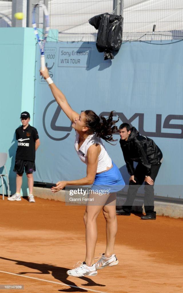 Agneszka Radwanska, POL, tennis in 'Mutua Madrilena Madrid Open' , 8th May 2010, in 'La Caja Magica'. Madrid, Spain.