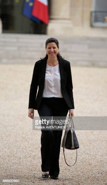 Agnès Buzyn France's minister of Health arrives for a cabinet meeting at the Elysée Palace in Paris France on May 18 2017