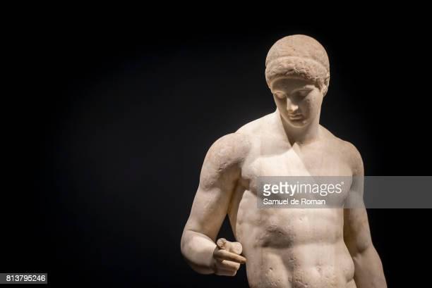 'Agon La Competicion En La Antigua Grecia ' Art Exhibition at Caixaforum Madrid on July 13 2017 in Madrid Spain