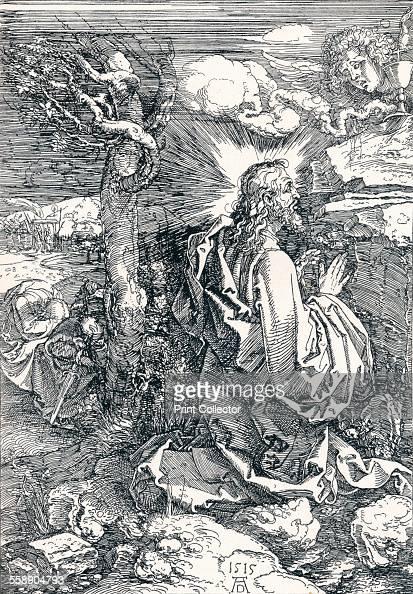 'Agony in the Garden' 1515 From Durer Des Meisters Gemalde Kupferstiche und Holzschnitte in 471 Abbildungen [Stuttgart und Leipzig Deutsch...