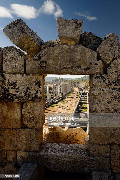 Agora ruins of Perge