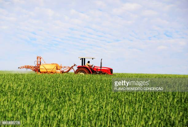 Agricultural defensive spraying