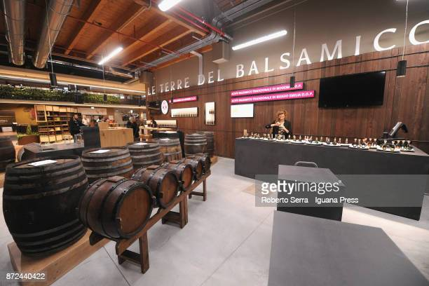 Agro Food Park of Eataly World press preview at CAAB Agro Food Center on November 9 2017 in Bologna Italy