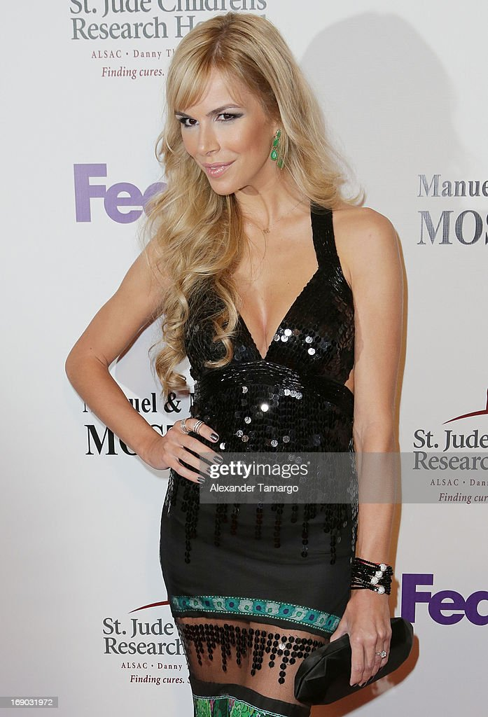 Agueda Lopez attends the 11th annual FedEx/St. Jude Angels & Stars Gala at JW Marriott Marquis on May 18, 2013 in Miami, Florida.