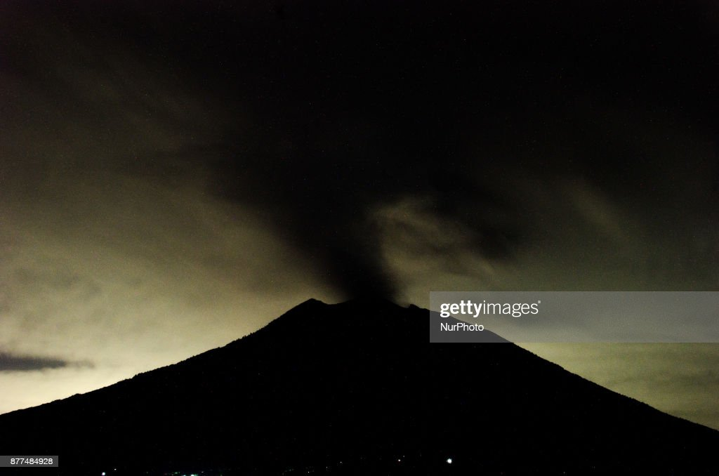 Agung Volcano In Indonesia