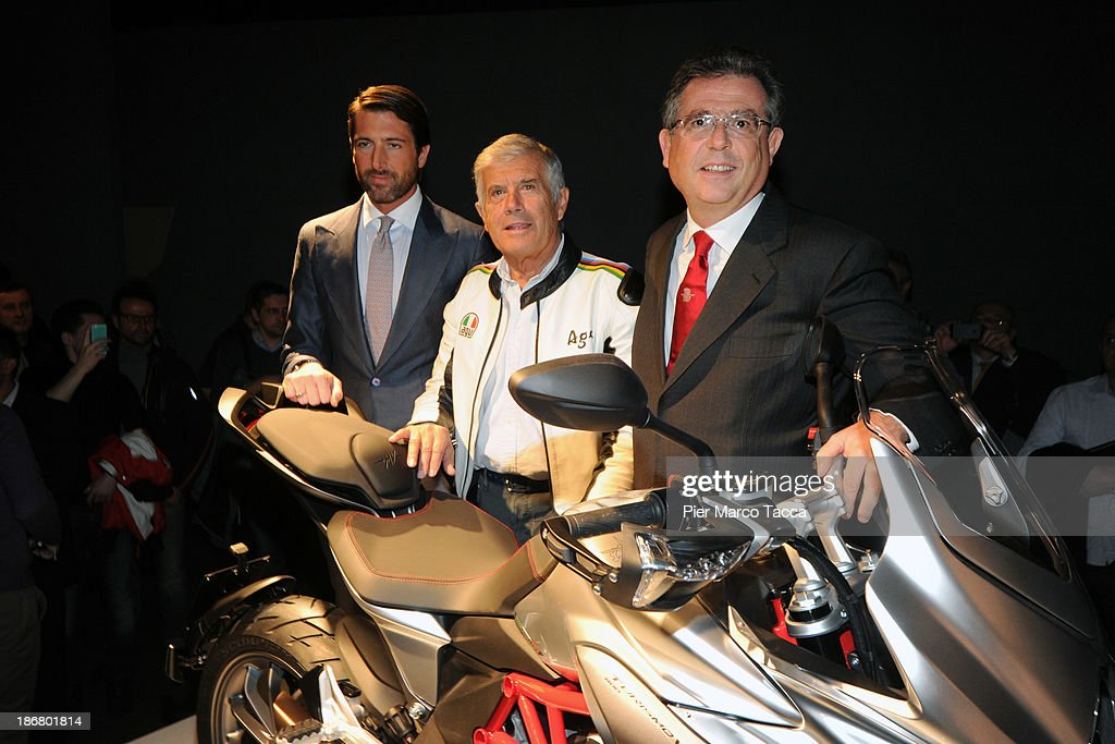 mv agusta turismo veloce presentation photos and images | getty images