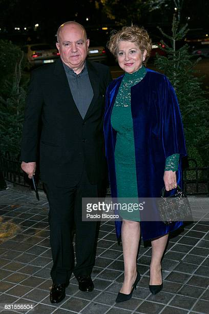 Agustin Almodovar arrives at the 31st Goya Awards nominated party at Ritz Hotel on January 12 2017 in Madrid Spain