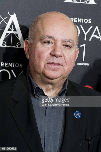 Agustin Almodovar attends Goya Awards Candidates 2016 Cocktail at Ritz Hotel on January 12 2017 in Madrid Spain