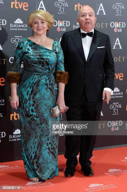 Agustin Almodovar attends Goya Cinema Awards 2017 at Madrid Marriott Auditorium on February 4 2017 in Madrid Spain