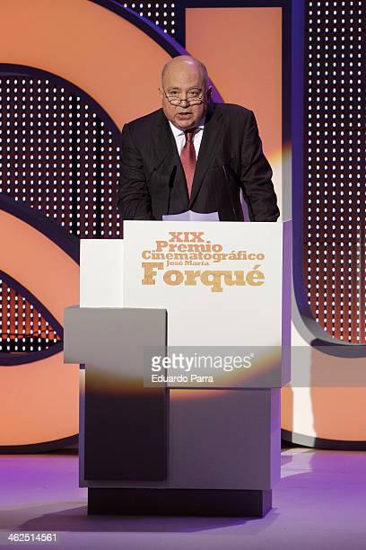 Agustin Almodovar attends XIX Premio Cinematografico Jose Maria Forque at Palacio de Congresos on January 13 2014 in Madrid Spain