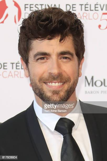 Agustin Galiana arrives at the Opening Ceremony of the 57th Monte Carlo TV Festival and World premier of Absentia Serie on June 16 2017 in MonteCarlo...
