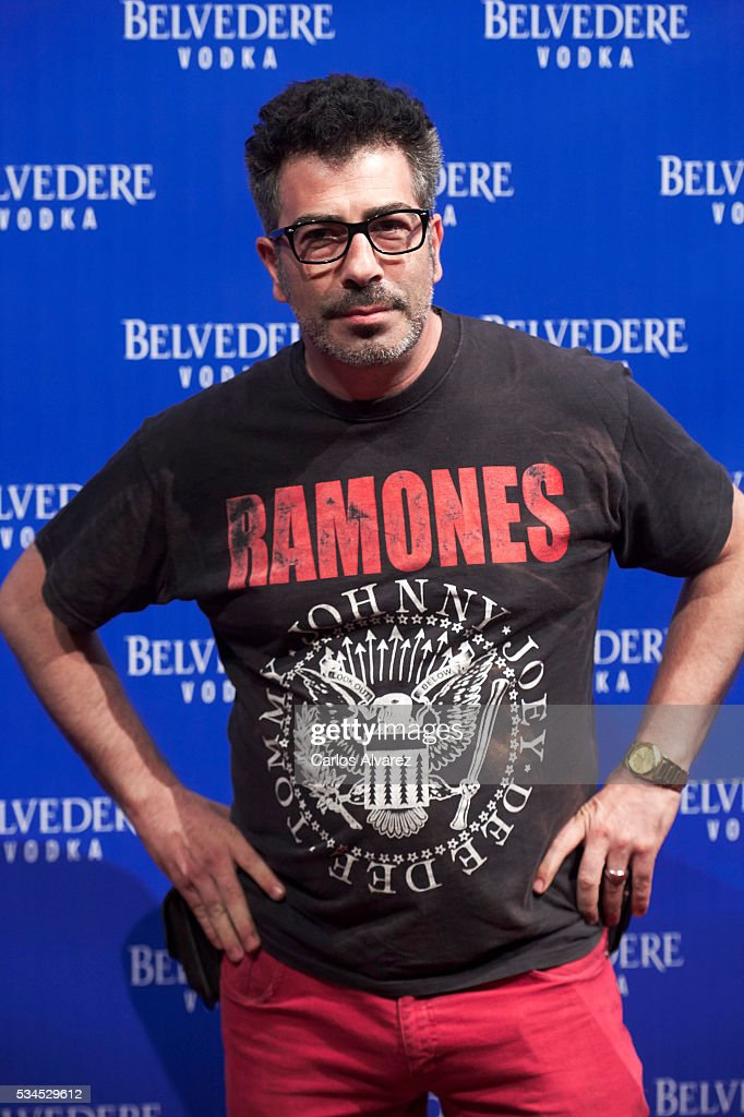 Agustin Jimenez attends 'Ramones' 40th anniversary party at El Principito Club on May 26, 2016 in Madrid, Spain.