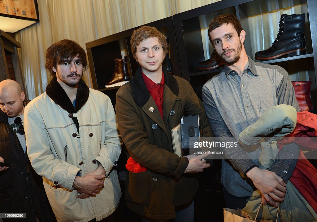 Agustin Silva, Michael Cera and Juan Silva attend Day 1 of UGG at Village At The Lift 2013 on January 18, 2013 in Park City, Utah.