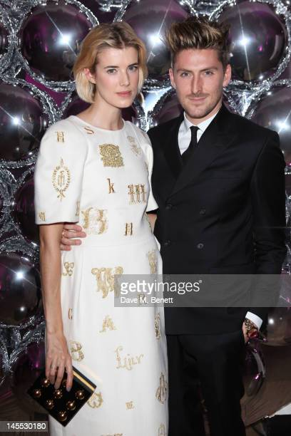 Agyness Deyn and Henry Holland attend The 2012 NSPCC Pop Art Ball co hosted by Natalia Vodianova and Stella McCartney in aid of the NSPCC's...