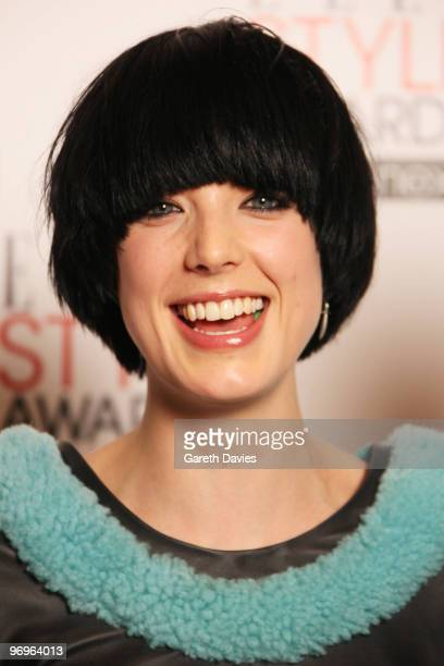 Agyness Deyn arrives at the Elle Style Awards 2010 held at The Grand Connaught Rooms on February 22 2010 in London England