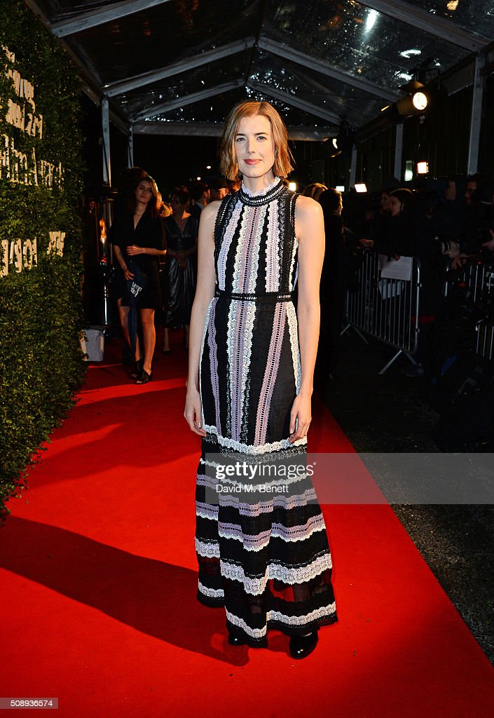 Agyness Deyn arrives at the London Evening Standard British Film Awards at Television Centre on February 7 2016 in London England