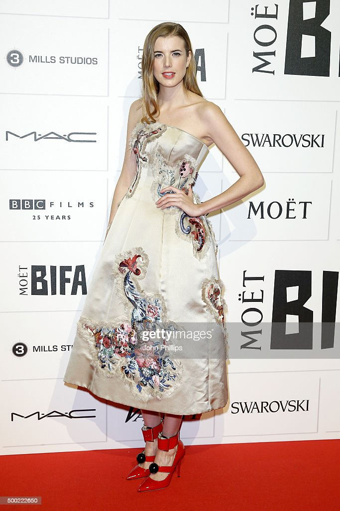 Agyness Deyn arrives at The Moet British Independent Film Awards 2015 at Old Billingsgate Market on December 6, 2015 in London, England.