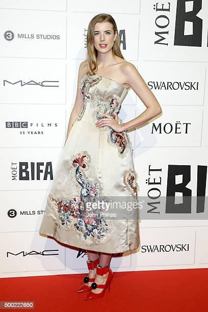Agyness Deyn arrives at The Moet British Independent Film Awards 2015 at Old Billingsgate Market on December 6 2015 in London England