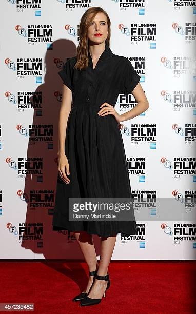 Agyness Deyn attends a screening of 'Electricity' during the 58th BFI London Film Festival at Vue West End on October 14 2014 in London England