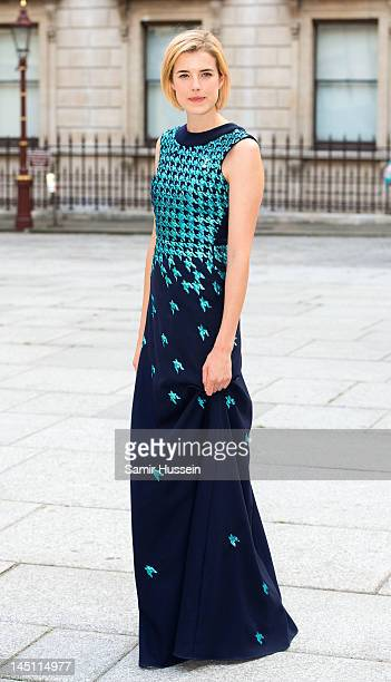 Agyness Deyn attends a special 'Celebration of the Arts' event at the Royal Academy of Arts on May 23 2012 in London England