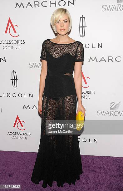 Agyness Deyn attends the 15th Annual ACE Awards at Cipriani 42nd Street on November 7 2011 in New York City