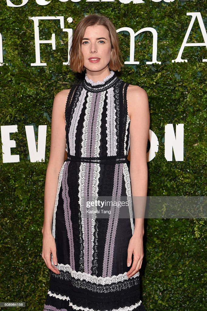 <a gi-track='captionPersonalityLinkClicked' href=/galleries/search?phrase=Agyness+Deyn&family=editorial&specificpeople=4162764 ng-click='$event.stopPropagation()'>Agyness Deyn</a> attends the London Evening Standard British Film Awards at Television Centre on February 7, 2016 in London, England.
