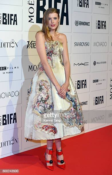 Agyness Deyn attends the Moet British Independent Film Awards at Old Billingsgate Market on December 6 2015 in London England